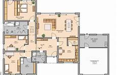 Grundriss Haus Mit Garage - bungalow mit integrierter doppelgarage grundriss grundriss