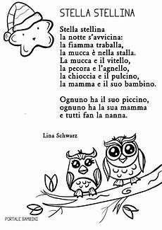 una notte in italia testo stella stellina portale bambini
