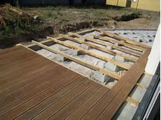 terrasse bois sur plot beton terrasse bois terrasse sur plots b 233 ton