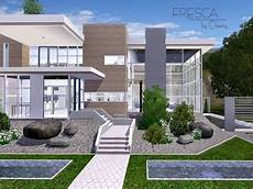 sims 3 house plans modern fresca modern house by chemy sims 3 downloads cc