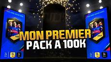 pack opening mon premier pack a 100 k youtube
