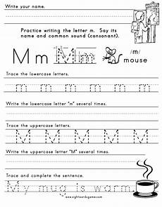 letter m handwriting worksheets 24300 the letter m sight words reading writing spelling worksheets