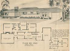 1950 ranch style house plans 1950 home building plan service 1063 building plans