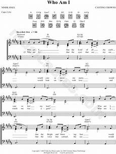 crowns quot who am i quot sheet music in b major transposable download print sku mn0047460