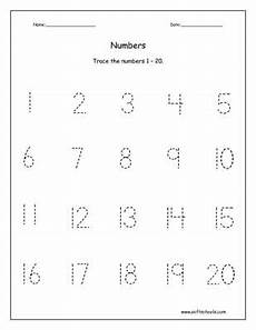 counting tracing numbers worksheets 8044 trace the numbers 1 20 worksheet writing numbers kindergarten number tracing kindergarten