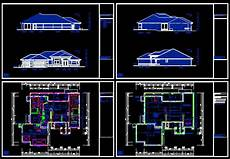 autocad house plans free download cad building template us house plans house type 21