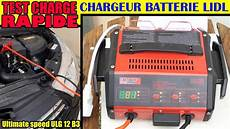 Lidl Chargeur De Batterie Ultimate Speed Ulg 12 Test