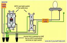 wiring a pigtail off a gfi outlet for 60watt light bulb home improvement stack exchange