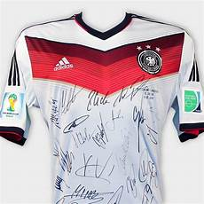 germany signed 2014 world cup jersey