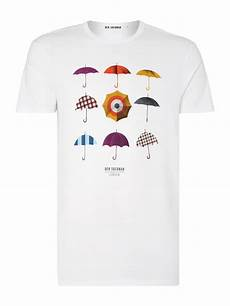 lyst ben sherman heritage umbrella print t shirt in