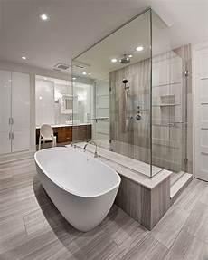 Ensuite Bathroom Showers by Master Bathroom Idea Combination Walk In Minimal Shower