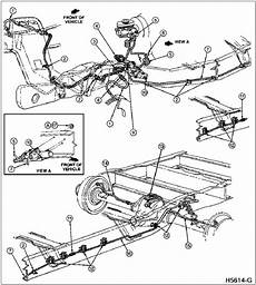 1996 ford f150 fuel system diagram 1996 ford f 250 brake lines brake system f 150 f 250 f 350 and bronco typical 1996 ford