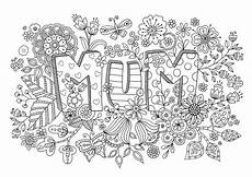 free s day colouring mothers day