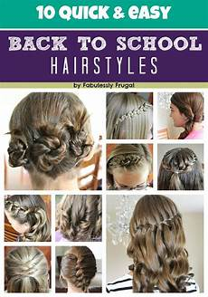 10 easy back to school hairstyle ideas fabulessly frugal