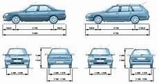 largeur d une voiture les dimensions de la 406 406