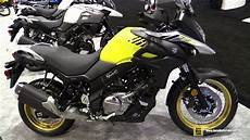 2017 Suzuki V Strom 650 Xt Walkaround Debut At 2016