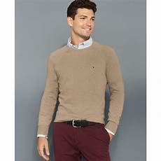 hilfiger american crew neck sweater in for