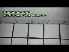 silikonfugen reinigen schimmel silikonfuge entfernen