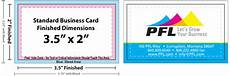 visiting card size business card size specifications and dimensions