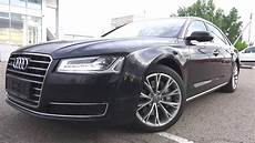 the audi a8l a four door size luxury sedan start up