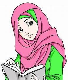 Gambar Kartun Muslimah Salehah Terbaru Gaul Dan