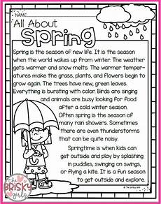 seasons worksheets for grade 3 14801 the four seasons reading passages take home packet reading passages seasons worksheets