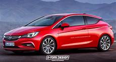 All New Opel Astra Rendered As Gtc Sports Tourer