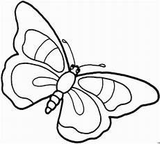 Malvorlagen Schmetterling Gratis Schmetterling Mit 4 Mustern Ausmalbild Malvorlage