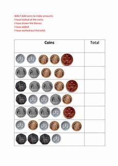 money worksheets tes 2340 year 2 adding coins teaching resources