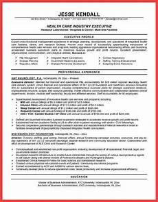 healthcare resume objective memo exle