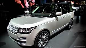 2013 Range Rover Autobiography Edition  Exterior And
