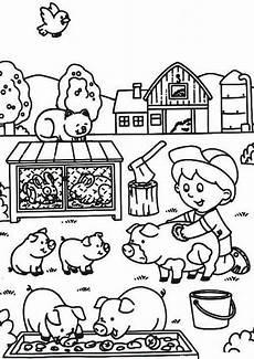 Ausmalbilder Kinder Bauernhof Ausmalbilder Bauernhof 19 Ausmalbilder Kinder