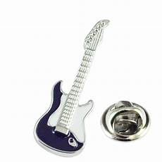 Pin On Guitars Blue Electric Guitar Lapel Pin Badge From Ties Planet Uk