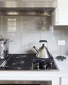 Stacked Kitchen Backsplash