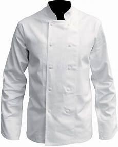 Veste De Cuisine Coton Blanc Pressions Vetements De