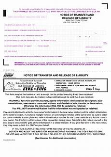 Fillable Form Reg 138 Notice Of Transfer And Release Of
