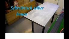Diy Tisch Aus Paletten Und Beton Selber Bauen Beton