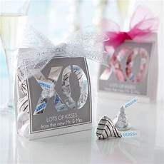 kisses xo wedding favors