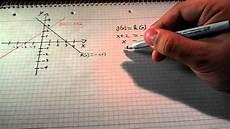 schnittpunkt zweier geraden berechnen anleitung
