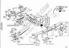 ford f 350 front strut diagram ford truck technical drawings and schematics section a front rear axle assemblies and