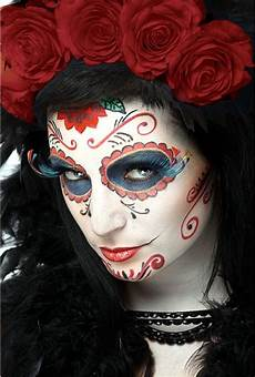 Maquillaje D 237 A De Los Muertos Dia De Muertos Y