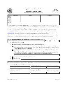 uscis form n 400 download fillable pdf application for naturalization templateroller
