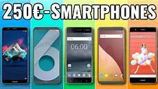 5 top smartphones handys unter 250 2018