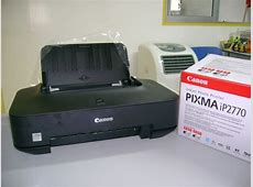 4 12 1 5: Install Printer Canon iP2770