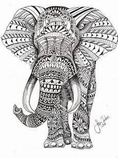 malvorlagen jackson edition 16 elephant coloring drawings mandala to print more