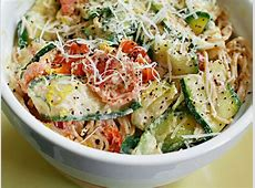 pasta with zucchini and lemon caper sauce_image