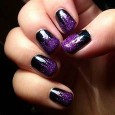 60 cool purple glitter nail art design ideas for trendy girls