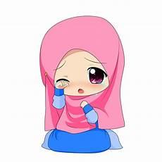 Kartun Muslimah Chibi Kolek Gambar