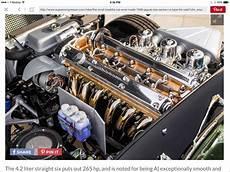 1966 jaguar e type fhc 4 2 litre engine bay jaguar e