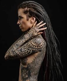 polynesian tattoo by dmitry babakhin